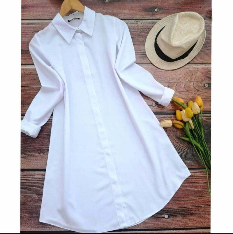 قميص نسائي أبيض